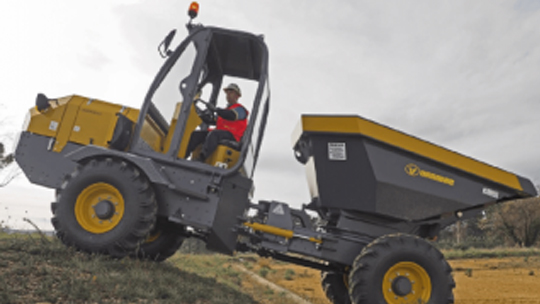 Uromac-Lacertis-4WD-9000KG-Capacity-Articulated-Dumper